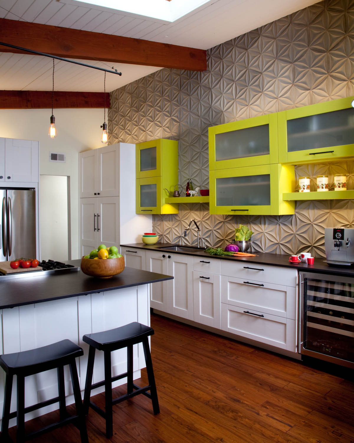 Little Kitchen Here Is A Fun Little Kitchen We Just Wrapped Uptaylor Design And