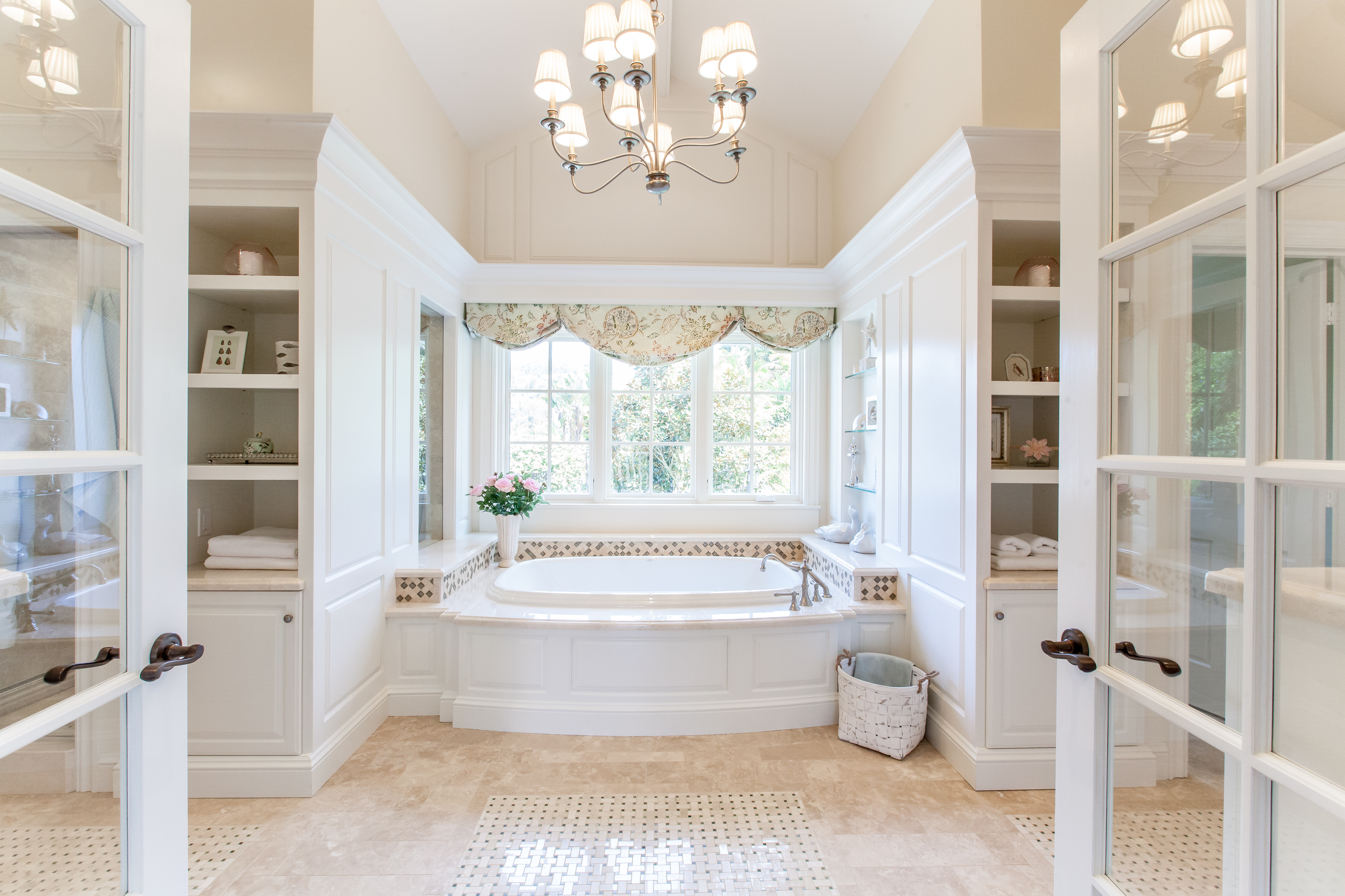 Here are some photographs of two bathrooms we built that are fit for ...